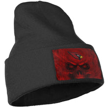 Load image into Gallery viewer, 3D Skull Cardinals Knit Hat Cap-Heroinhere