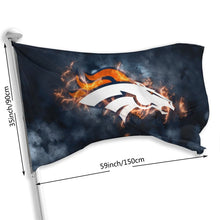 Load image into Gallery viewer, Broncos Illustration Art Flag 3*5 ft-Heroinhere
