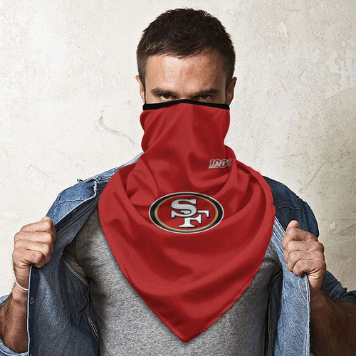 100 49ers Football Team Obacle Seamless Bandana Rave Face Mask-Heroinhere