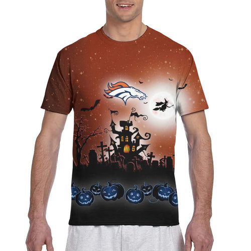 Broncos Football Team Halloween T Shirts-Heroinhere