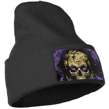 Load image into Gallery viewer, 3D Skull Vikings Knit Hat Cap-Heroinhere