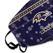Load image into Gallery viewer, Ravens Team Christmas Ugly Anti-infective Polyester Face Mask-Heroinhere