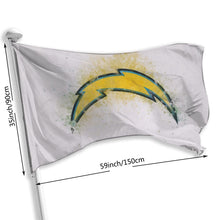 Load image into Gallery viewer, Chargers Logo Flag 3*5 ft-Heroinhere