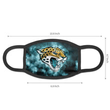 Load image into Gallery viewer, Jaguars Illustration Art Anti-infective Polyester Face Mask-Heroinhere