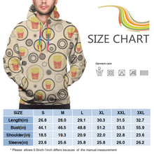 Load image into Gallery viewer, French Fries Pattern Hoodies For Men Pullover Sweatshirt-Heroinhere