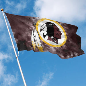 Redskins Illustration Art Flag 3*5 ft-Heroinhere