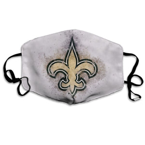 Saints Logo Anti-infective Polyester Face Mask-Heroinhere