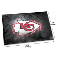 Load image into Gallery viewer, Chiefs Illustration Art Flag 4*6 ft-Heroinhere