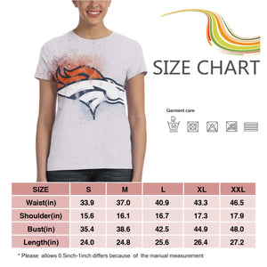 Broncos Logo T Shirts For Women-Heroinhere