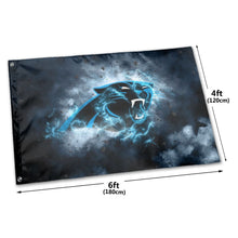 Load image into Gallery viewer, Panthers Illustration Art Flag 4*6 ft-Heroinhere