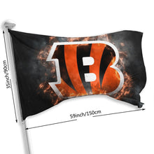 Load image into Gallery viewer, Bengals Illustration Art Flag 3*5 ft-Heroinhere