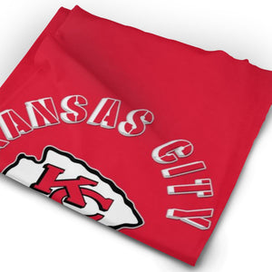 Chiefs Football Team Multi-Functional Seamiess Rave Mask Bandana-Heroinhere