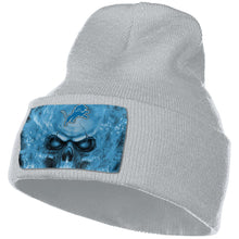 Load image into Gallery viewer, 3D Skull Lions Knit Hat Cap-Heroinhere
