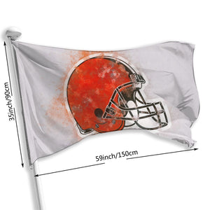 Browns Logo Flag 3*5 ft-Heroinhere