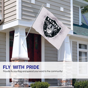 Raiders Logo Flag 4*6 ft-Heroinhere