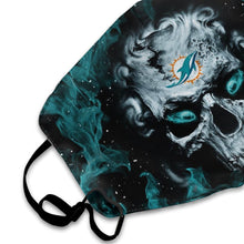 Load image into Gallery viewer, QIANOU66 3D Skull Dolphins Anti-infective Polyester Face Mask-Heroinhere