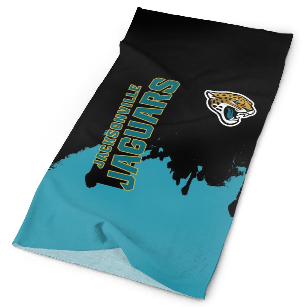 Jaguars Team Multi-Functional Seamiess Rave Mask Bandana-Heroinhere