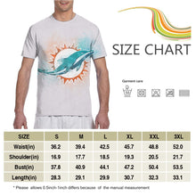 Load image into Gallery viewer, Dolphins Logo T Shirts For Men-Heroinhere