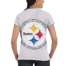 Load image into Gallery viewer, Steelers Logo T Shirts For Women-Heroinhere