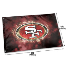 Load image into Gallery viewer, 49ers Illustration Art Flag 4*6 ft-Heroinhere