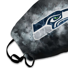 Load image into Gallery viewer, Seahawks Illustration Art Anti-infective Polyester Face Mask-Heroinhere