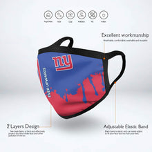 Load image into Gallery viewer, Giants Team Anti-infective Polyester Face Mask-Heroinhere
