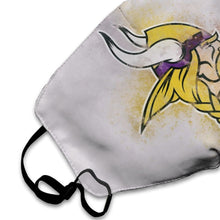 Load image into Gallery viewer, Vikings Logo Anti-infective Polyester Face Mask-Heroinhere