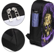 Load image into Gallery viewer, 3D Skull Vikings Travel Laptop Backpack USB Backpack 17 IN-Heroinhere