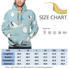 Load image into Gallery viewer, Storks Hoodies For Men Pullover Sweatshirt-Heroinhere