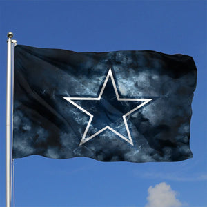 Cowboys Illustration Art Flag 4*6 ft-Heroinhere