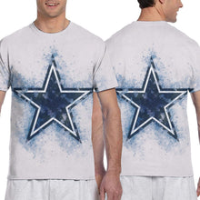 Load image into Gallery viewer, Cowboys Logo T Shirts For Men-Heroinhere