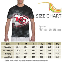 Load image into Gallery viewer, Chiefs Illustration Art T Shirts For Men-Heroinhere