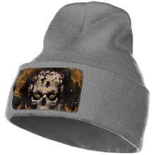 Load image into Gallery viewer, 3D Skull Redskins Knit Hat Cap-Heroinhere
