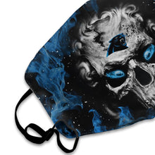 Load image into Gallery viewer, QIANOU66 3D Skull Panthers Anti-infective Polyester Face Mask-Heroinhere