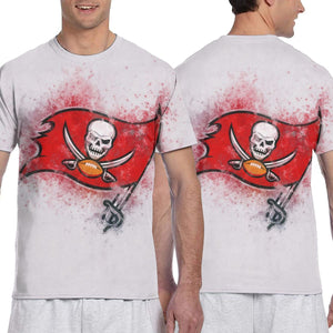 Buccaneers Logo T Shirts For Men-Heroinhere