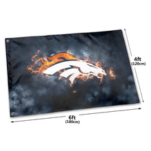 Load image into Gallery viewer, Broncos Illustration Art Flag 4*6 ft-Heroinhere