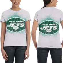 Load image into Gallery viewer, Jets Logo T Shirts For Women-Heroinhere
