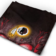 Load image into Gallery viewer, QIANOU66 Skull Lava Redskins Multi-Functional Seamiess Rave Mask Bandana-Heroinhere