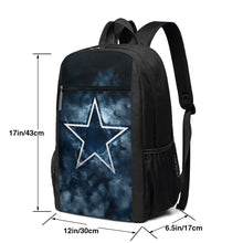 Load image into Gallery viewer, Cowboys Illustration Art Travel Laptop Backpack 17 IN-Heroinhere