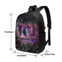 Load image into Gallery viewer, Giants Illustration Art Travel Laptop Backpack USB Backpack 17 IN-Heroinhere