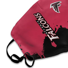 Load image into Gallery viewer, Falcons Team Anti-infective Polyester Face Mask-Heroinhere