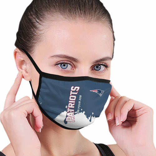 Patriots Team Anti-infective Polyester Face Mask-Heroinhere