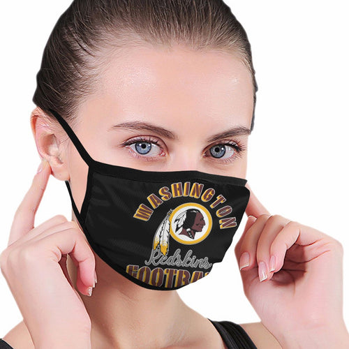 Redskins Football Team Anti-infective Polyester Face Mask-Heroinhere