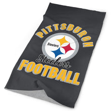 Load image into Gallery viewer, Steelers Football Team Multi-Functional Seamiess Rave Mask Bandana-Heroinhere