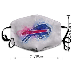 Bills Logo Anti-infective Polyester Face Mask-Heroinhere