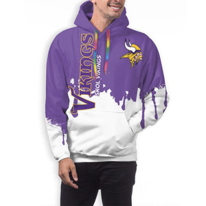 Vikings Hoodies For Men Pullover Sweatshirt-Heroinhere