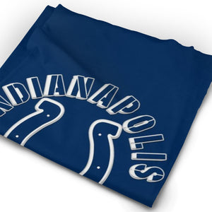 Colts Football Team Multi-Functional Seamiess Rave Mask Bandana-Heroinhere
