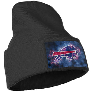 Bills Illustration Art Knit Hat Cap-Heroinhere