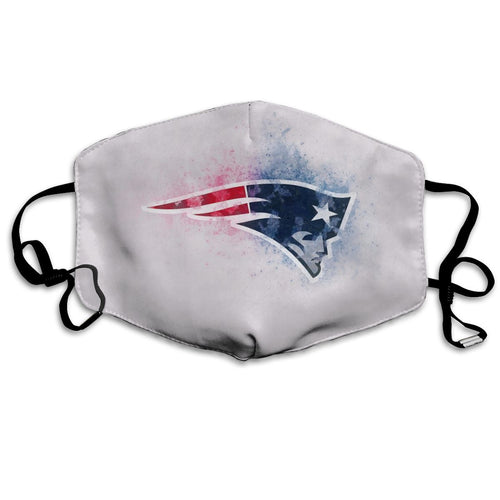 Patriots Logo Anti-infective Polyester Face Mask-Heroinhere