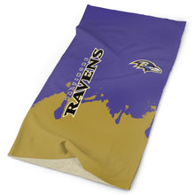 Load image into Gallery viewer, Ravens Team Multi-Functional Seamiess Rave Mask Bandana-Heroinhere